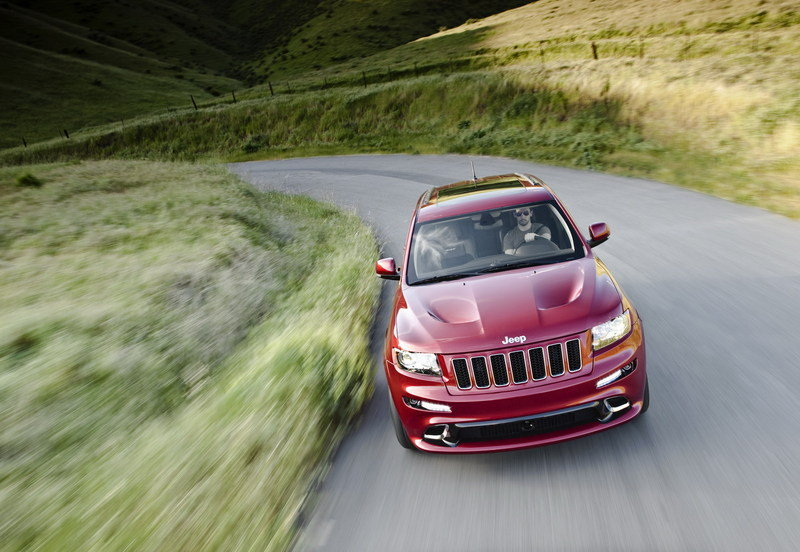 2012 Jeep Grand Cherokee SRT8 High Resolution Exterior - image 399448