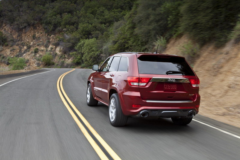 2012 Jeep Grand Cherokee SRT8 High Resolution Exterior - image 399434