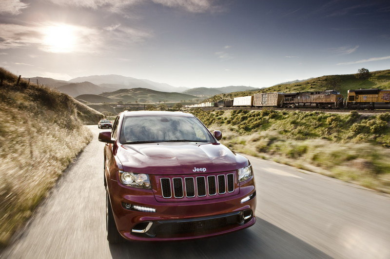 2012 Jeep Grand Cherokee SRT8 High Resolution Exterior - image 399436