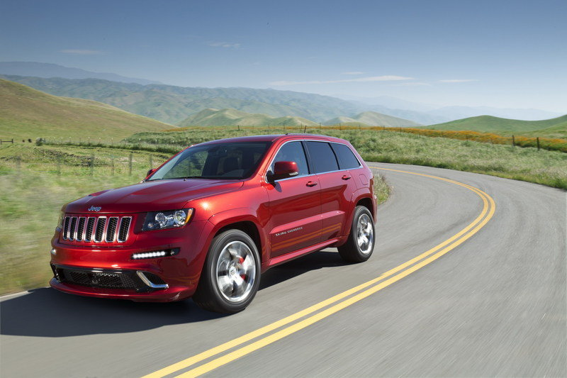 2012 Jeep Grand Cherokee SRT8 High Resolution Exterior - image 399437