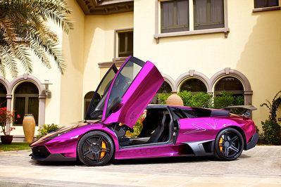 2011 Lamborghini LP670-4 SuperVeloce Chrome Purple by ADV.1