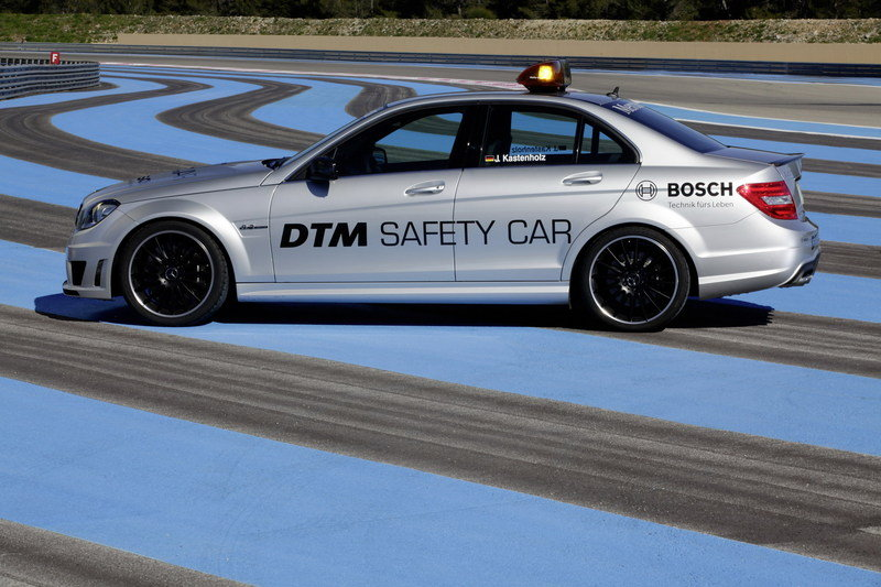 2011 Mercedes C63 AMG Safety Car