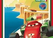 Pixar releases series of vintage posters for Cars 2 - image 398539