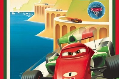 Pixar releases series of vintage posters for Cars 2