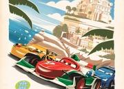 Pixar releases series of vintage posters for Cars 2 - image 398540