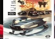 Pixar releases series of vintage posters for Cars 2 - image 398576
