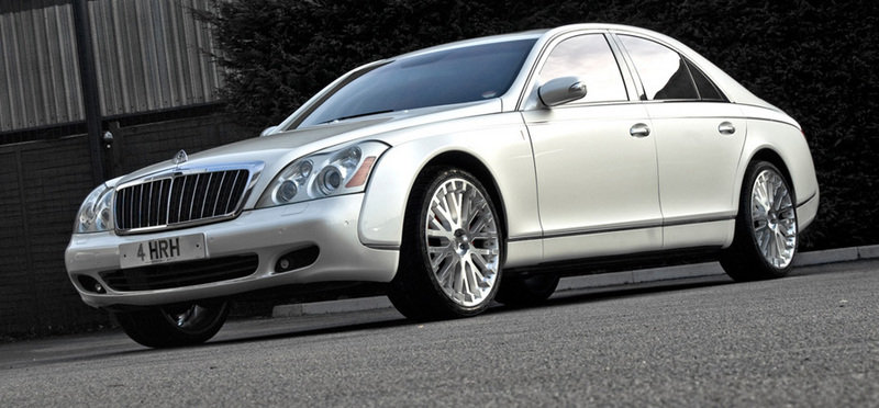 2011 Maybach 57 Wedding Commemorative by Project Kahn