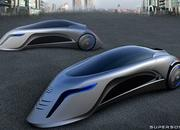 Supersonic - the three wheeled car of the future - image 400550
