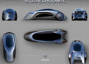 Supersonic - the three wheeled car of the future - image 400551