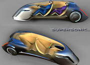 Supersonic - the three wheeled car of the future - image 400552
