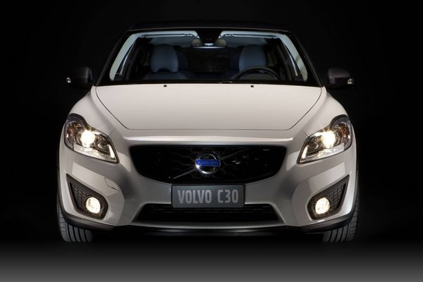 volvo c30 black design picture