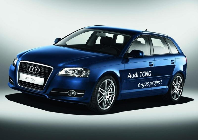 2011 Audi TCNG e-gas project