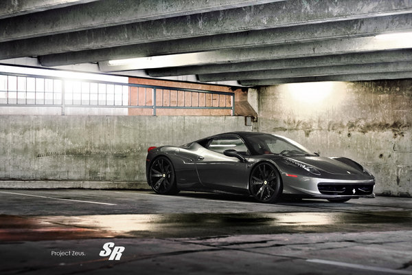 ferrari 458 italia zeus by sr auto group picture