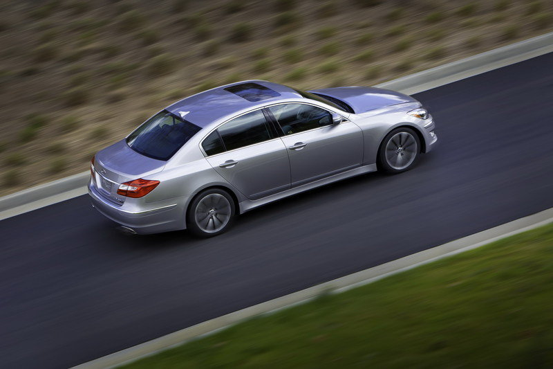 2012 Hyundai Genesis High Resolution Exterior - image 403416