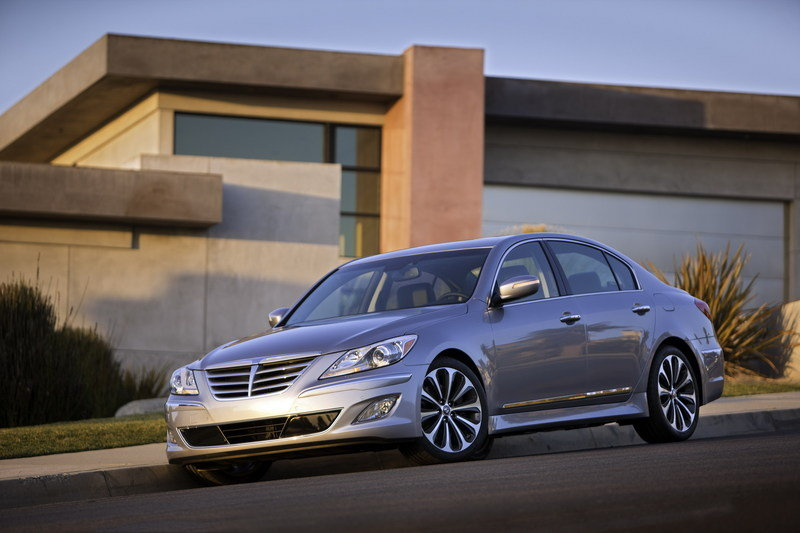2012 Hyundai Genesis High Resolution Exterior - image 403411