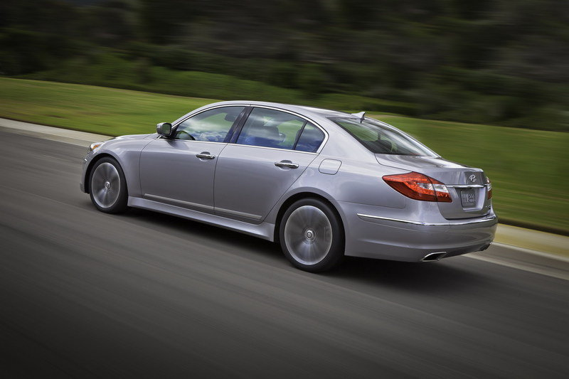 2012 Hyundai Genesis High Resolution Exterior - image 403412