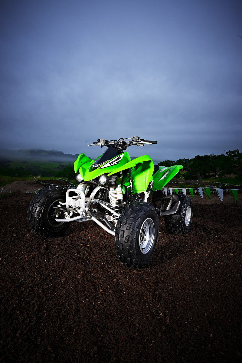 450 Best Images About Makeup On Pinterest: 2012 Kawasaki KFX 450R Review