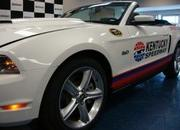 2012 Kentucky Speedway Ford Mustang Pace Car - image 401701