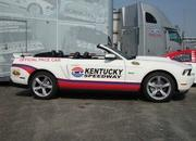 2012 Kentucky Speedway Ford Mustang Pace Car - image 401702