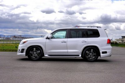 2011 Lexus LX570 Black Bison Edition by Wald