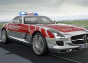 Mercedes SLS AMG Emergency Medical Vehicle Study