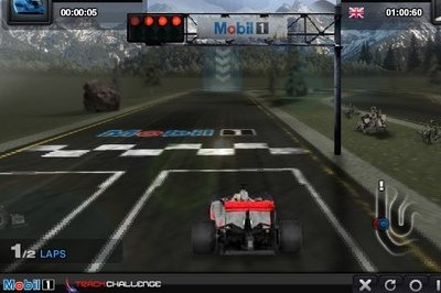 Mobil 1 Track Challenge car game is out