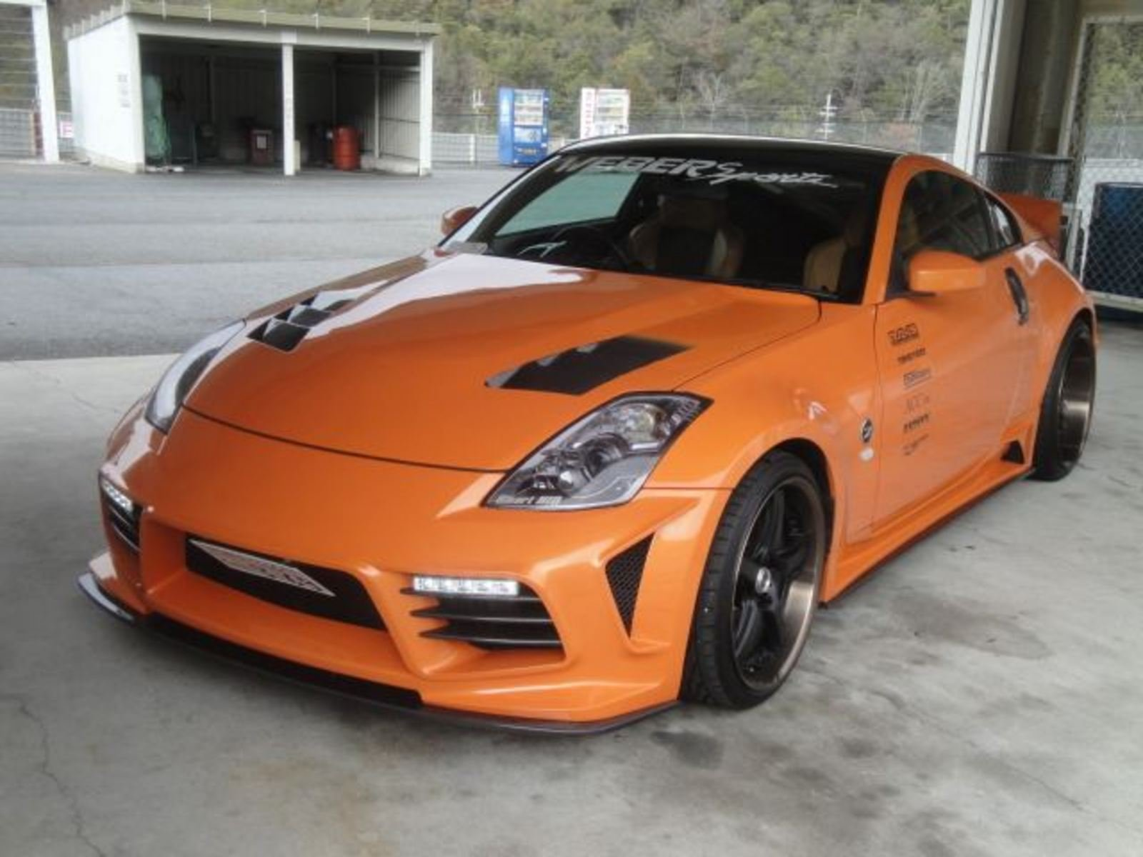 2011 nissan 350z by weber sports review top speed. Black Bedroom Furniture Sets. Home Design Ideas