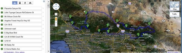 road trip ideas scenic weekend drive near los angeles picture