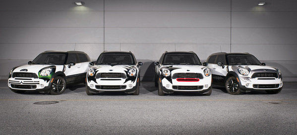 mini countryman kiss edition picture