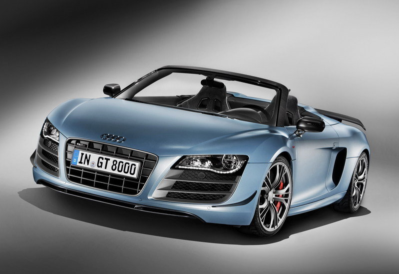 2012 Audi R8 GT Spyder High Resolution Exterior Wallpaper quality - image 404649
