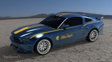 2012 Ford Mustang Blue Angels Edition