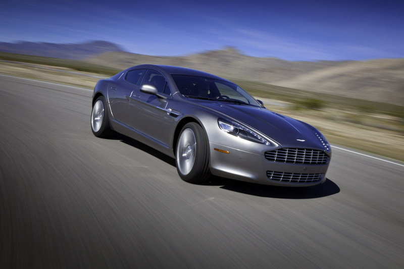 Aston Martin Rapide doing double duty at Nurburgring and Nevada