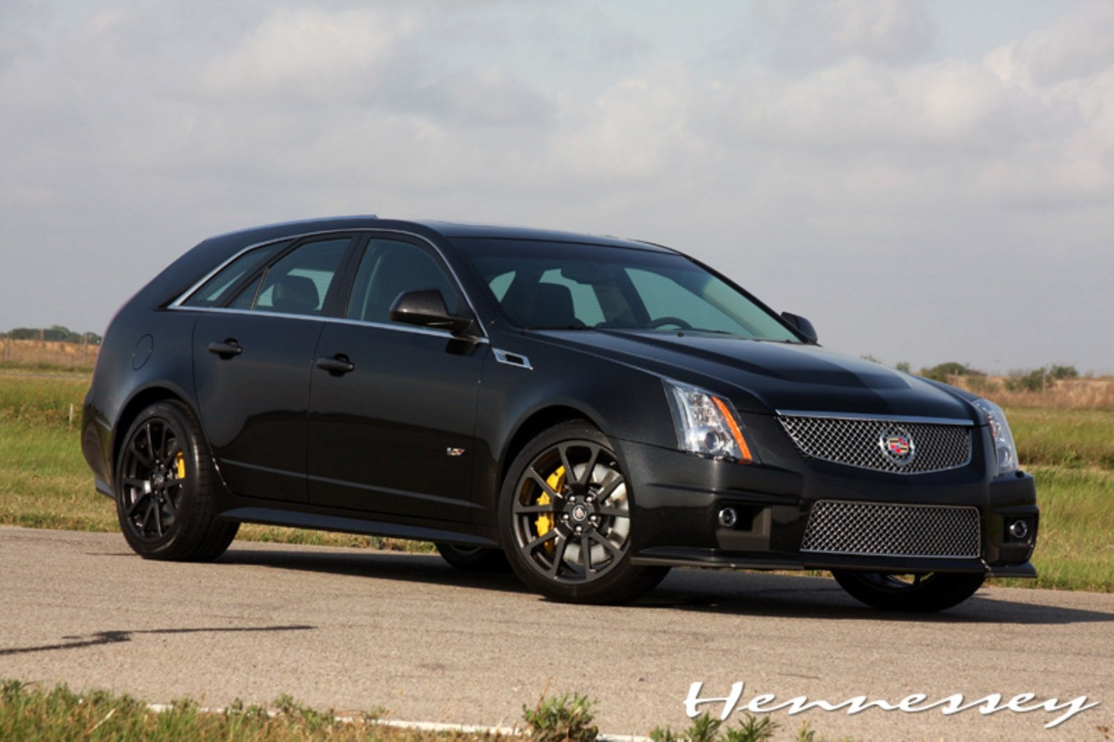 2011 Cadilac Cts V Black Diamond Edition V700 Sport Wagon
