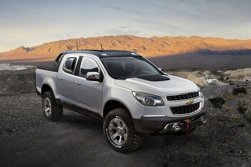 2011 Chevrolet Colorado Rally Concept High Resolution Exterior - image 406430