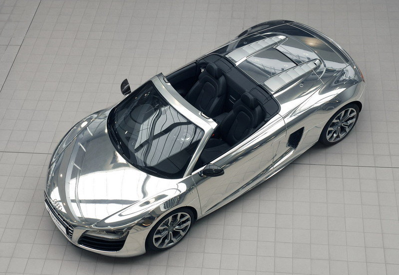 2011 Audi R8 Spyder Chrome for the Elton John AIDs Foundation