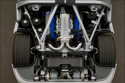 Ford Gt Twin Turbo By Hennessey Drivetrain Image