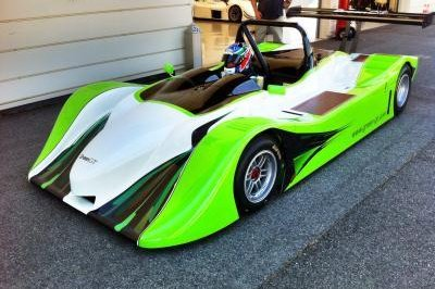 Green GT Electric Race Car Concept