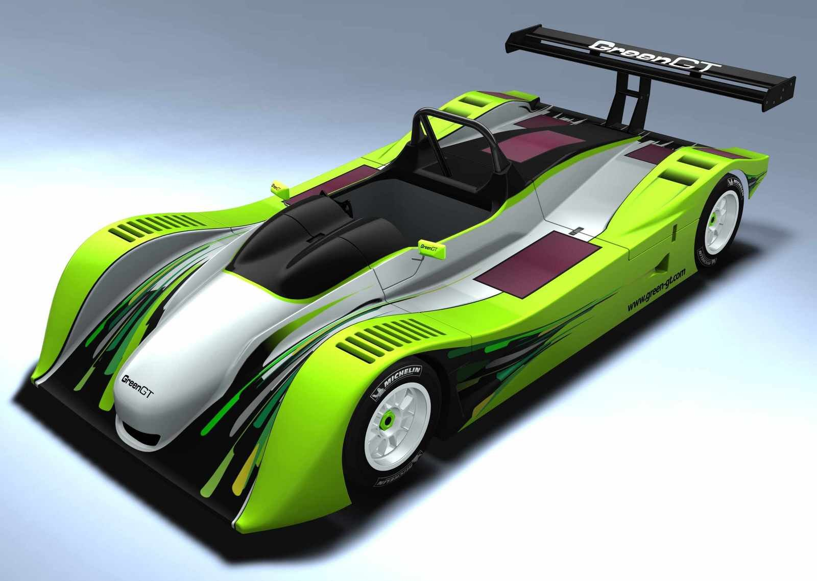 Green GT Electric Race Car Concept News - Top Speed