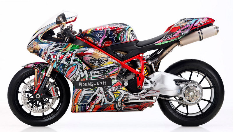 "2011 Ducati 1098 and 1198 ""Kill Me Fast"" Collection by Kristian van Hornsleth"