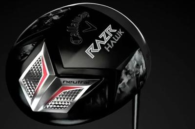 Lamborghini-Callaway tie-up yields the 'Razr Hawk' golf club