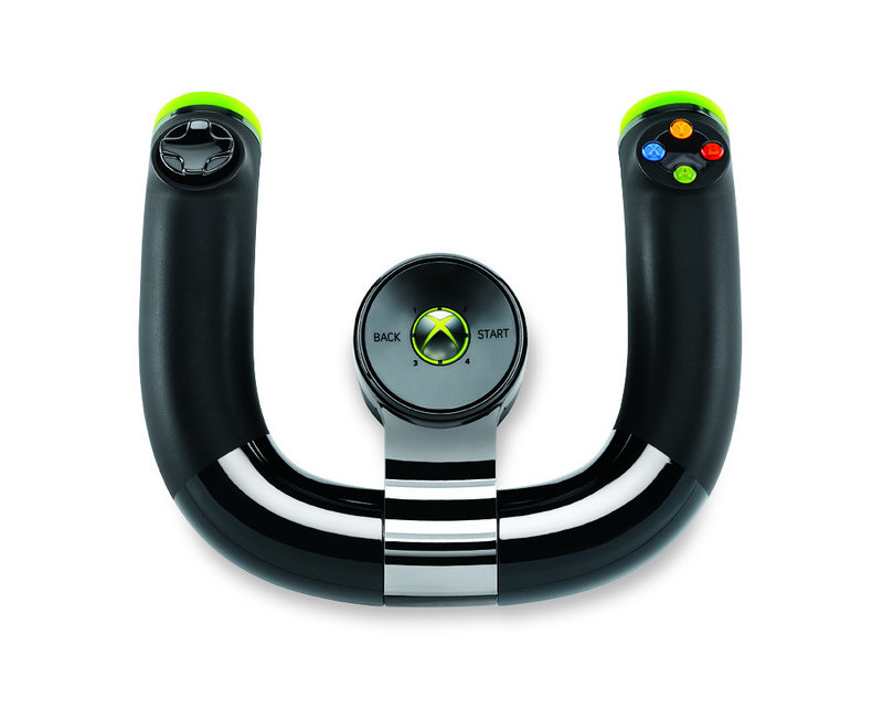 Microsoft set to introduce the Xbox 360 Wireless Speed Wheel
