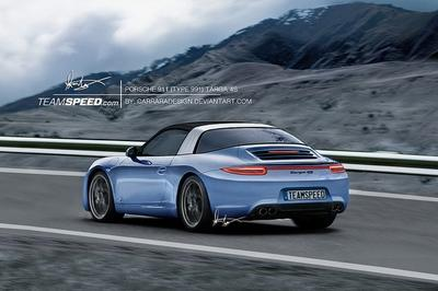 Future Porsche 911 Targa 4S may get old school Targa option