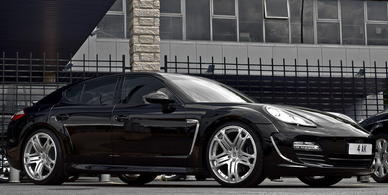 2011 Porsche Panamera Styling Package by Kahn Design