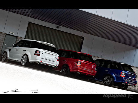 Range Rover Sport Patriotic by Project Kahn