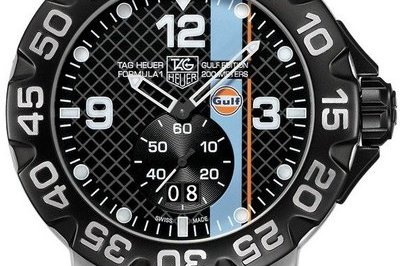 Tag Heuer Formula 1 Gulf Edition Watch