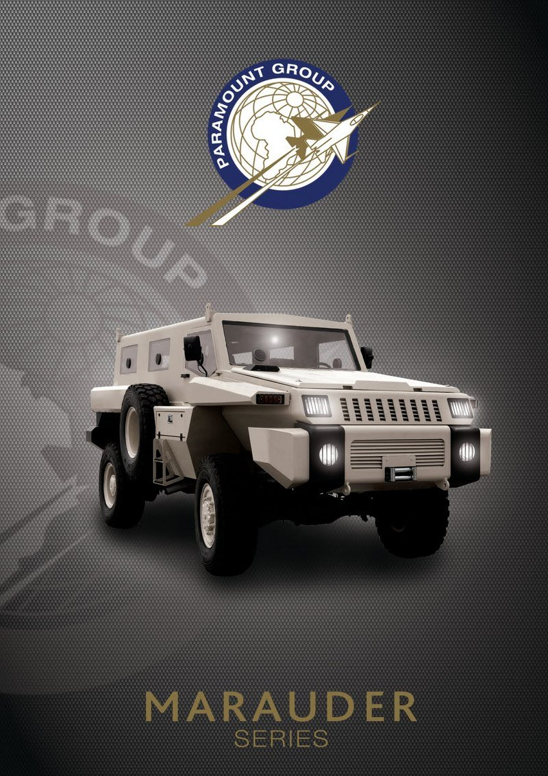 2011 Paramount Group Marauder