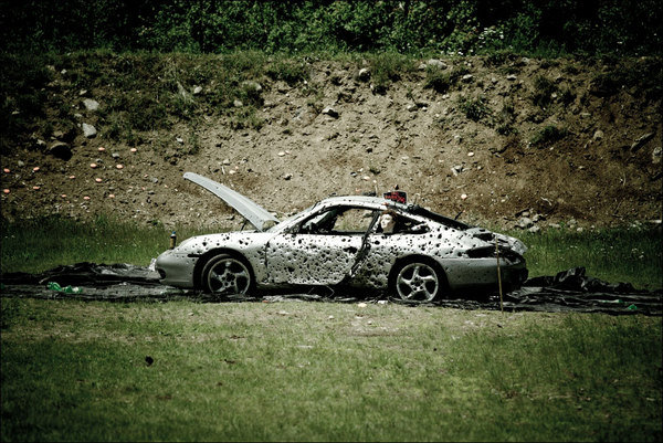 the world 8217 s most destroyed porsche is a sight for sore eyes picture