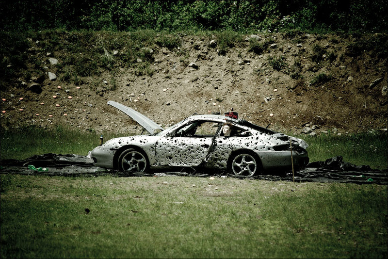 The world's most destroyed Porsche is a sight for sore eyes