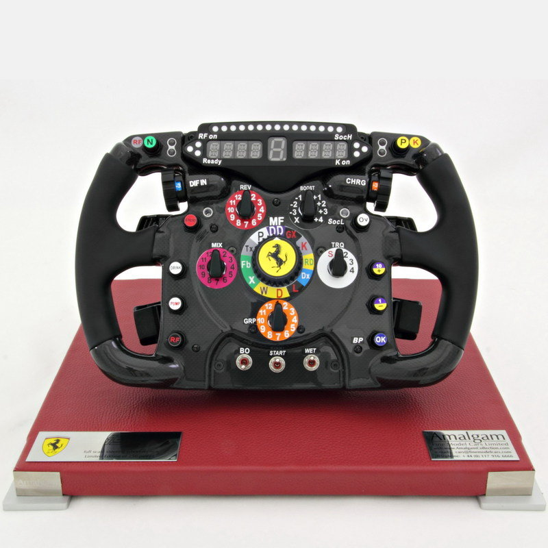 1/1 Scale 2011 Ferrari 150° Italia Steering Wheel Replica