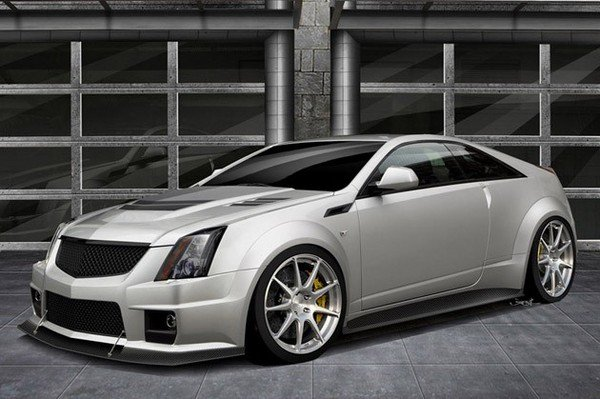 cadillac cts-v coupe twin turbo v1000 by hennessey picture